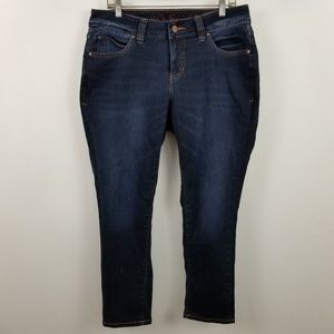 Jag Jeans Mid Rise Slim Ankle Womens Jeans 14W